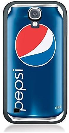 Funda Carcasa para iPhone 4 y 4S, diseño de Pepsi Cola PS7 Funda de silicona de goma de borde negro @ pattayamart: Amazon.es: Jardín