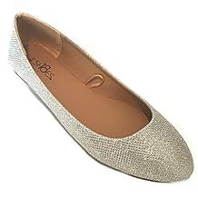 Shoes 18 Womens Ballerina Ballet Flat Shoes Solids & Leopards