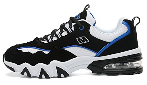 Freizeit Straßen Sneakers Santimon Outdoor Mesh Atmungsaktiv Schnürer Fitness Schuhe Laufschuhe Sport Herren Herren Leicht Wander Turnschuhe Blau Damen Running AgAYFxq