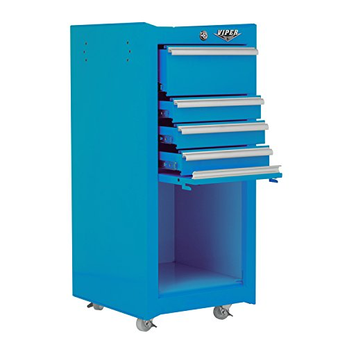 Viper Tool Storage V1804TLR 16-Inch 4-Drawer 18G Steel Ro...