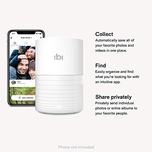 ibi - The Smart Photo Manager - Collect, Organize and Privately Share Photos & Videos with Your Favorite People - US Version by SanDisk (Image #1)