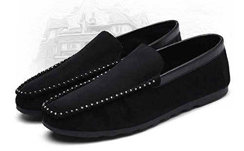 SHIXR Chaussures de printemps pour hommes de pieds Chaussures de pois pour hommes Chaussures de sport pour dames , black , 39