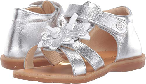 Naturino Baby Girl's Corallo SS19 (Toddler/Little Kid) Silver 28 M EU