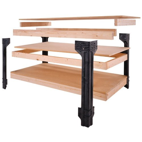 Image of Hopkins 90164 2x4basics Workbench and Shelving Storage System