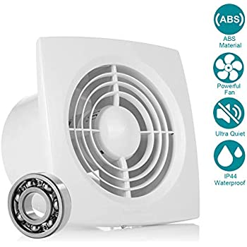 Exhaust Fan Extractor, HG POWER Ultra Silent 6 Inch Home ...