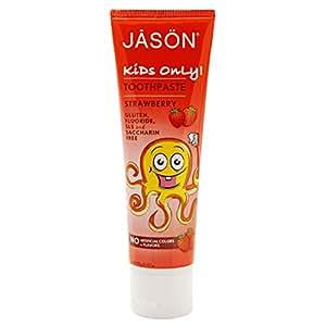Jason Strawberry Toothpaste 4.2 oz