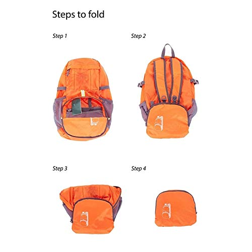 UNOMAS1 Lightweight Foldable Packable Backpack Water-Resistant Durable Daypack for Travel Beach Hiking Camping Backpacking Outdoors
