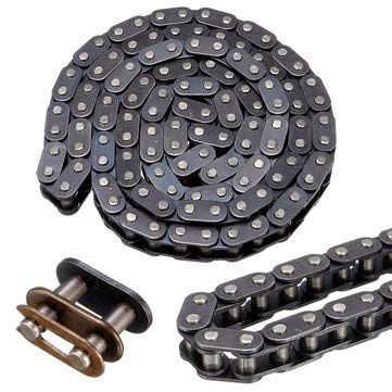 - Chain Belt Buckle - Motorcycle Chain Belt - T8F Chain Belt With Buckle Link 116 For 43cc 47cc 49cc Mini Dirt Quad Mini Moto (Heavy Motorcycle Chain Belt)
