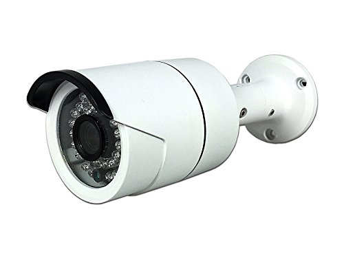 Aposonic A-TV2BF1 HD-TVI 1080P Sony Sensor 3.6mm 36 IR LEDs Weather-Proof Surveillance Bullet Camera (White)