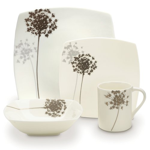Mikasa Floral Silhouette 4-Piece Placesetting