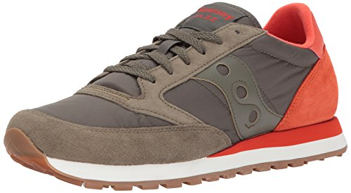Originali Di Saucony Mens Jazz Original Sneaker Olive Cherry