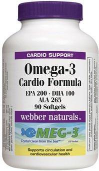 Omega 3 - Cardio Formula (EPA 200