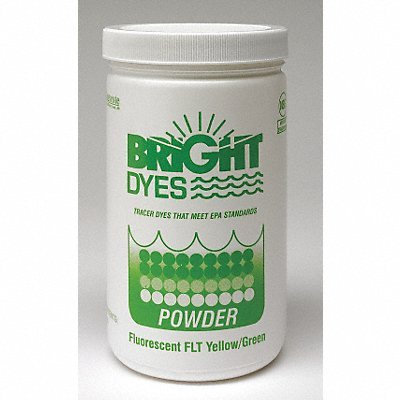 Bright Dyes Dye Tracer Powder Flt Yellow/Green 1 lb