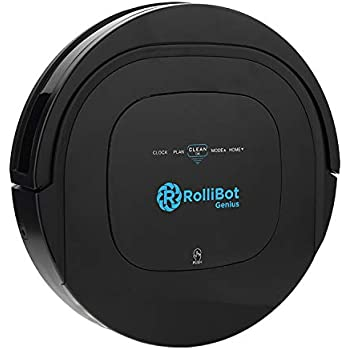 ROLLIBOT GENIUS BL800 - Robotic Vacuum Cleaner. Vacuum's, Sweeps, and Wet Mops Hard Surfaces and Carpet.