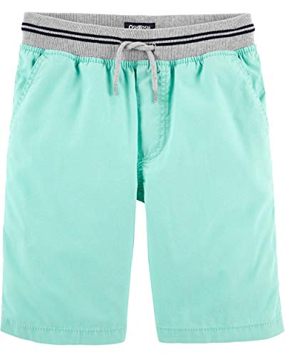 Osh Kosh Boys' Little Pull-on Shorts, Downstream, 6 - Oshkosh B Gosh Children's Clothing