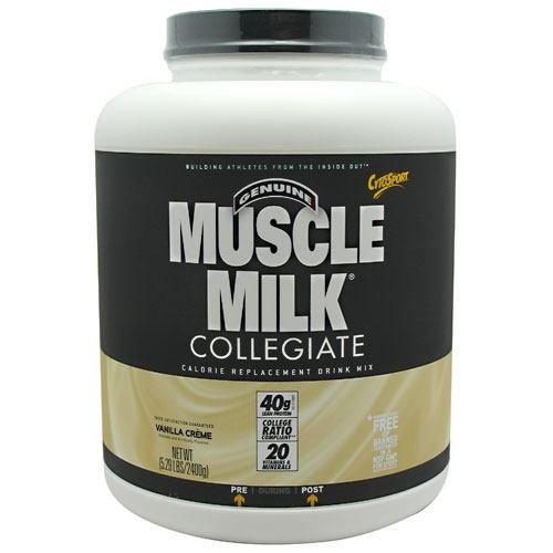 CytoSport Muscle Milk Collegiate Calorie Replacement Drink Mix