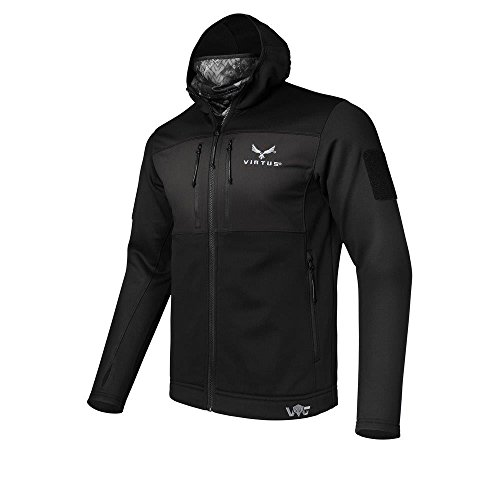 Virtus Tactical Jacket for Men Helios Base Layer XL (Nyx) by Virtus