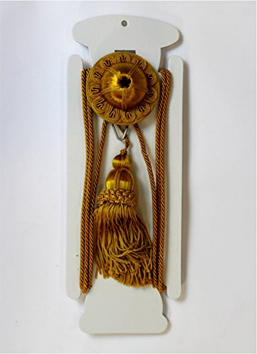 The Kings Bay Gold Victorian Hanging Picture Wall Hook, Antique Repro, Rail, Painting, Art Hanger