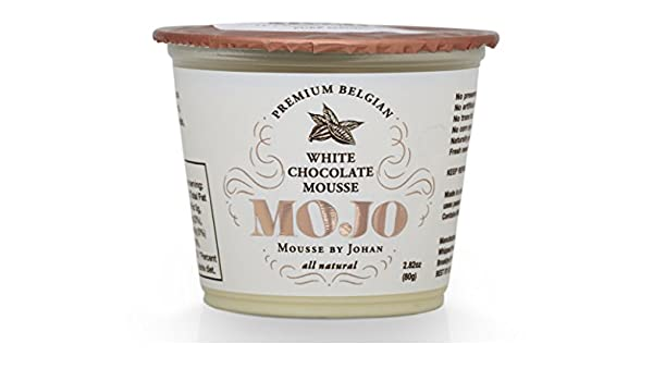 Amazon.com : MOJO Belgian Chocolate Mousse White, 12 Pack : Grocery & Gourmet Food