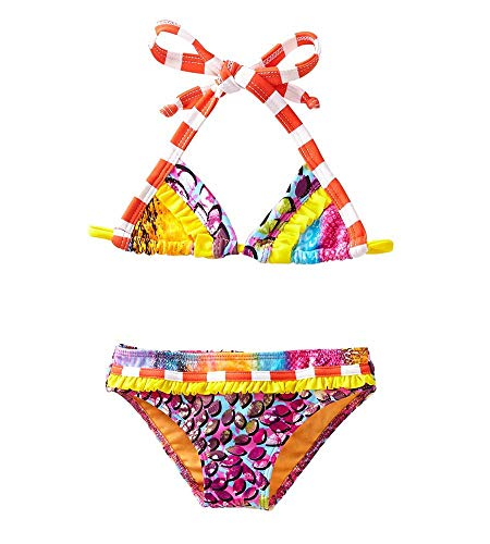 Azul Orange in The Mix Triangle Bikini, 12 from Azul