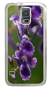 Samsung S5 carry case Bright Flowers PC Transparent Custom Samsung Galaxy S5 Case Cover
