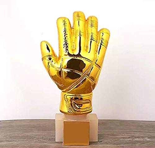 XSMP 2018 World Cup Titan Cup Soccer Goalkeeper Trophy Gold Gloves Prize 11 inches ()