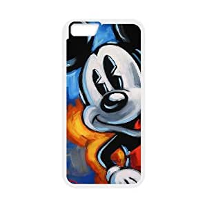 iphone6 plus 5.5 inch Case, Disney Mickey Mouse Minnie Mouse Cell phone case White for iphone6 plus 5.5 inch - SDFG8755067