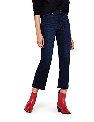 Rinse A Zampa Alla Find Jeans indigo Donna Blu Caviglia 17q7Bw6xa