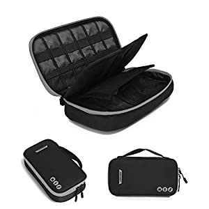 41Hy2DMf eL. SS300  - BAGSMART Travel Electronic Accessories Thicken Cable Organizer Bag Portable Case