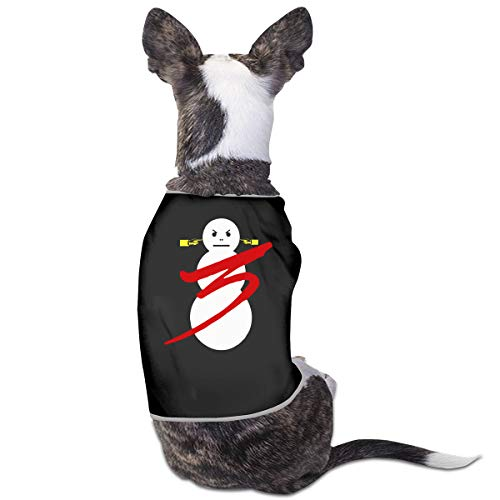 LSKXBC Eezy Trap Or Die 3 Album Lovely and Comfortable Pet Clothesv for Dogs and Cats L Black