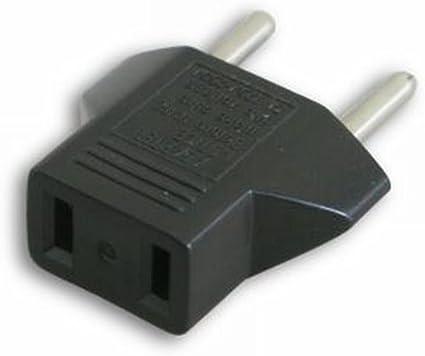 Adaptador UE 110V-220V para Aparatos con Conector de Toma ...