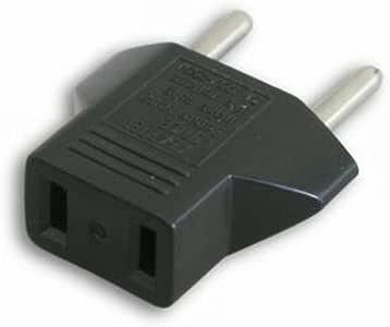 Adaptador UE 110V-220V para Aparatos con Conector de Toma Eléctrica de EEUU: Amazon.es: Electrónica