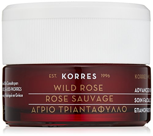 Korres Advanced Brightening Sleeping Facial, Wild Rose, 1.35