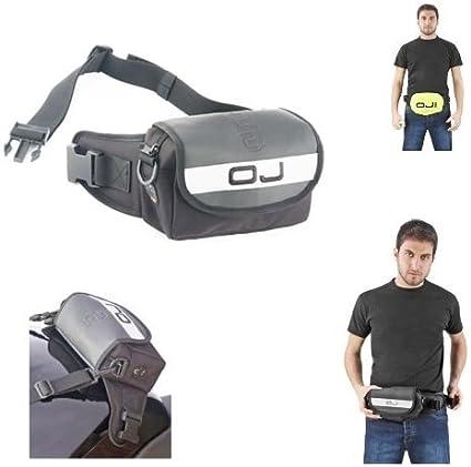 Riñonera para Smartphone M055 OJ Negro Dimensiones 20 x 9 x 4 cm Volumen 1 l Mini Belt Bag: Amazon.es: Coche y moto