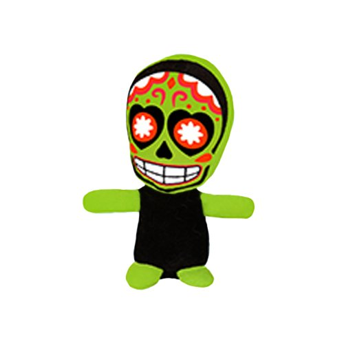 (ToySource Skully The Skeleton 10.5 in Plush Collectible Toy Skully The Spotted Toad Plush Toy, Random)