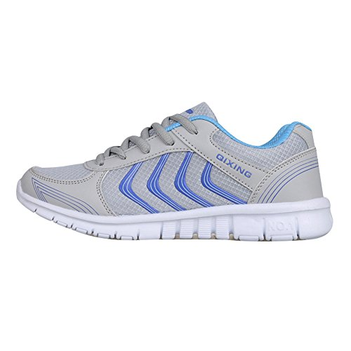 Athletic Mesh Breathable Sneakers Running Sports Shoes For Women/Ladies/Girls (US 7.5, Gray#2)