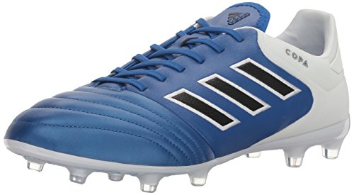 adidas Men's Copa 17.2 FG Soccer Shoe, Blue/Black/White, (8.5 M US)
