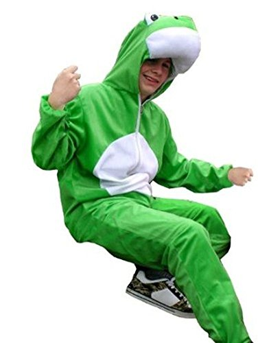 Fantasy World Frog Costume Halloween f. Men and Women, Size: XL/ 16-18, (Neat Costume Ideas)