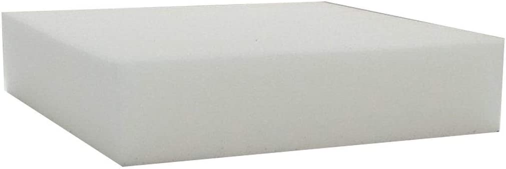 16 X 16 1 X 16 X 16 Linenspa High Density Squares-/ Replacement Cushion for Sofa or Chairs/ -Multiple Sizes Upholstery Foam