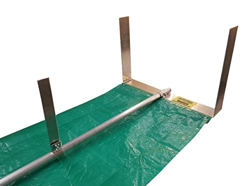 Fantastic Deal! Allagash Roof Rake - HEAVY DUTY - Designed For DEEP or PACKED SNOW - TOUGHEST Snow R...