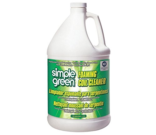 Simple Green 0110000404001 Foaming Non-Corrosive Non-Flammable Coil Cleaner in 1 gal Bottles (Pack of 4)