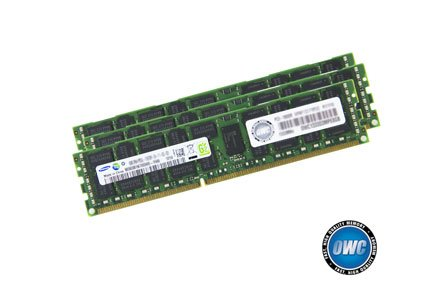 OWC 24.0GB (3 x 8GB) PC8500 DDR3 ECC 1066 MHz 240 pin DIMM Memory Upgrade Kit For 2009 Mac Pro and Xserve