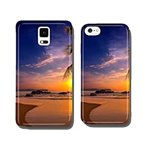 Sunset over the sea. Province Khao Lak in Thailand cell phone cover case iPhone6 Plus