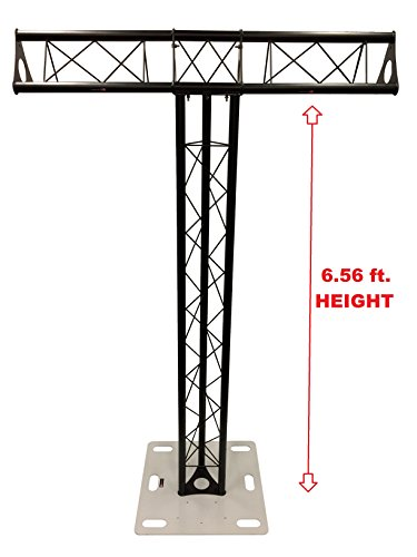 k Triangle Metal Truss Tower + Base Vertical T-Truss System ()