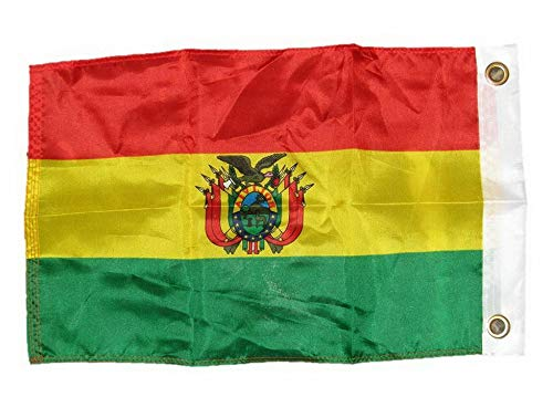 Mikash 12x18 12x18 Country of Bolivia Bolivian Motorcycle Flag Grommets | Model FLG - 3062