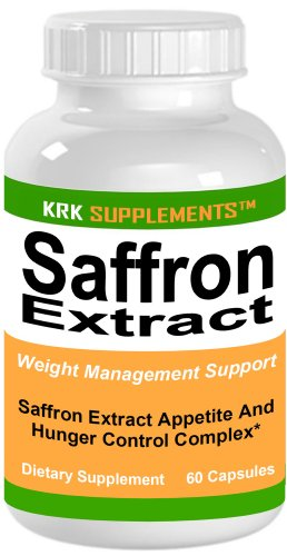 Safran Extrait 88 mg 60 capsules KRK SUPPLEMENTS