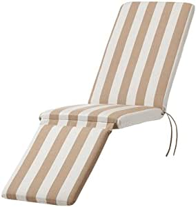 Bullnose steamer chaise outdoor cushion 2 for Bullnose chaise outdoor cushion