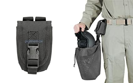 Image Unavailable. Image not available for. Color  Black Voodoo Tactical  Military Hunting Airsoft Molle Helmet Bag Utility Pouch 31614acf738ba