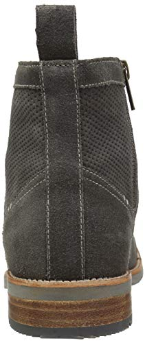 Ben Sherman Oxford Perf Grey Men's Suede Rugged Boot TOwTHq