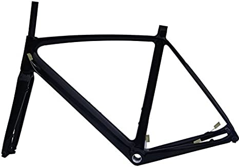 Carbono UD satinado para bicicleta de carretera cuadro (BB30): 56 ...